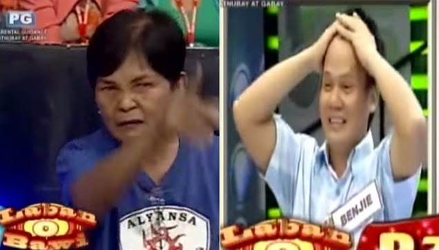 The contestant's Mom is on 'Bawi' mode from the beginning.