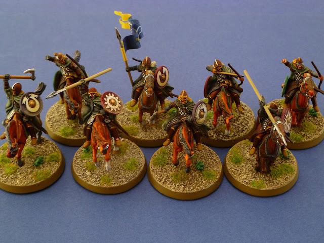 L'Eored  au complet (huit cavaliers) 3