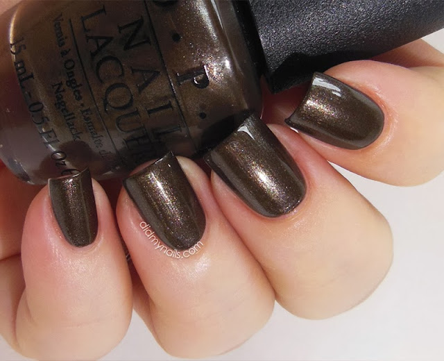 OPI Warm Me Up swatch