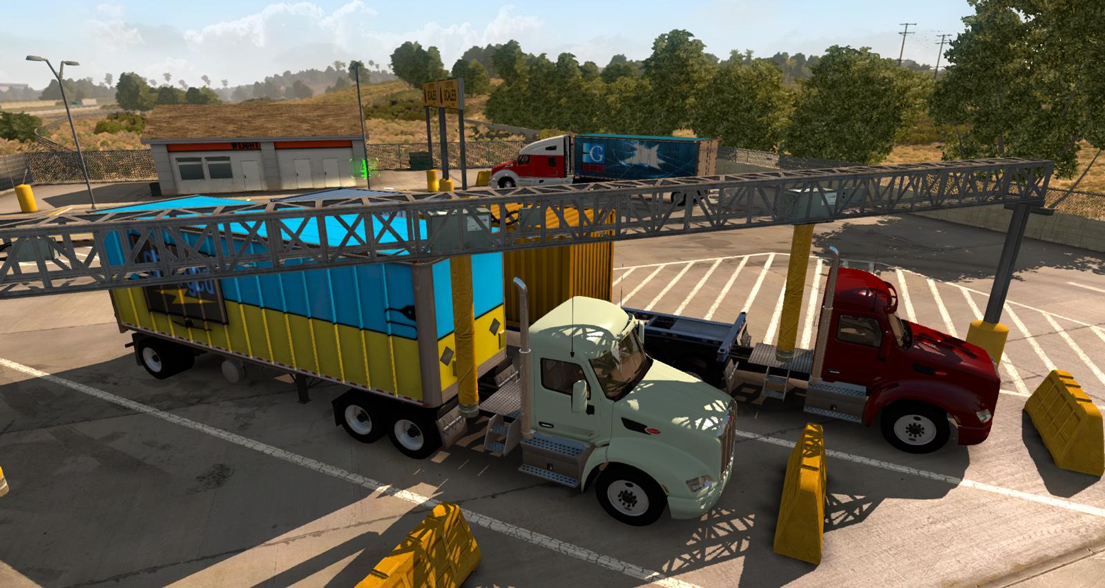 American Truck Simulator [1.2.1.1s] (2016) PC | RePack от =nemos=