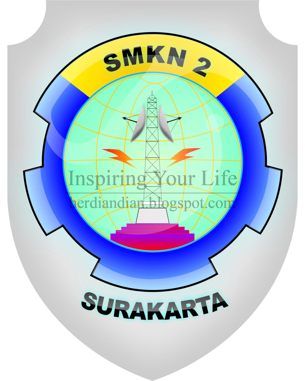 SMK Negeri 2 Surakarta Disanalah Aku Bersekolah Saat Masuh Gerbang Yang Paling Saya Suka Yaitu Logo Nih Seperti Gambar Dibawah Ni Kawan