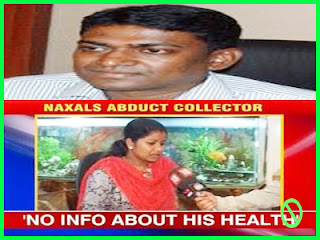Abducted Sukma collector Alex Paul Menon health