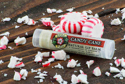 Candy Cane Natural Lip Balm