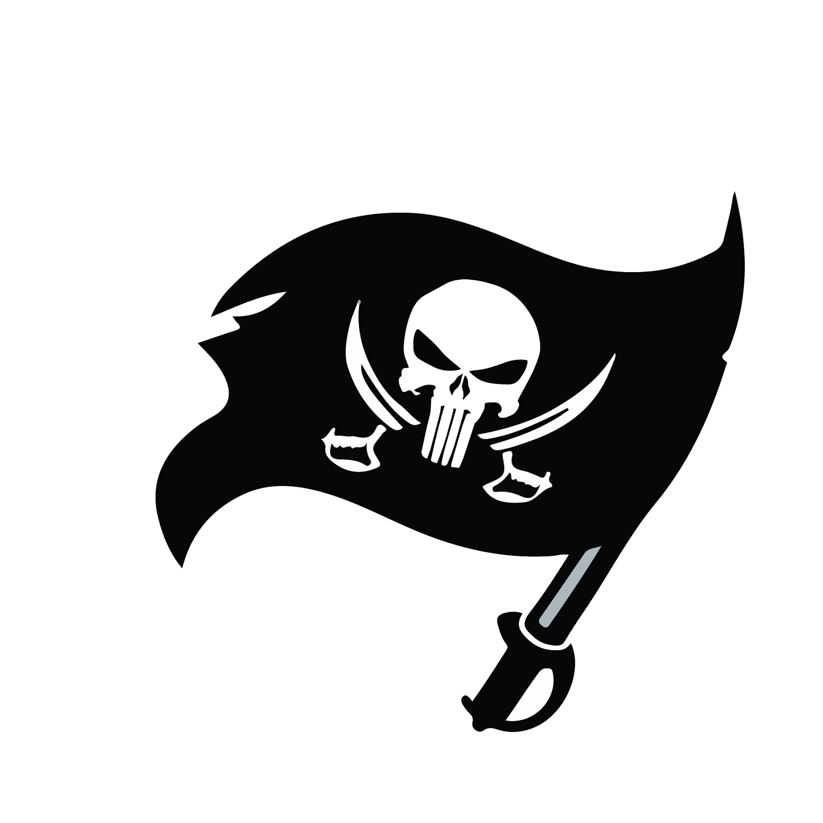 Tampa Bay Bucaneers, metal, logo, re-imagined