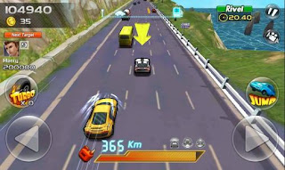 Screenshots of the Speed racing for Android tablet, phone.