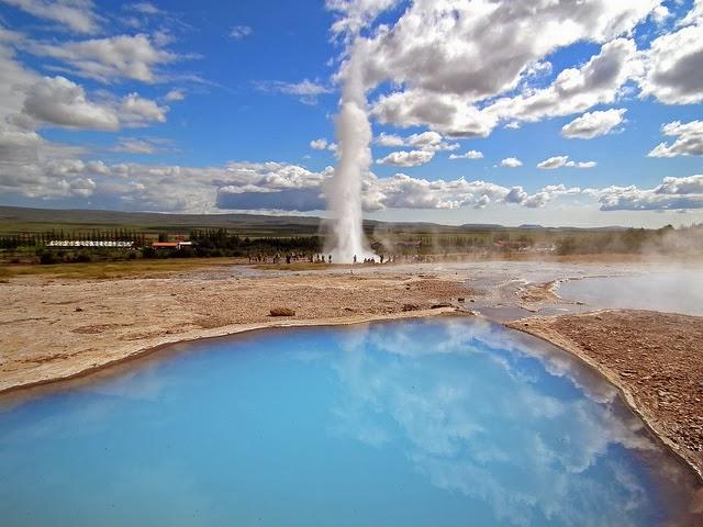 冰島蓋錫爾間歇泉