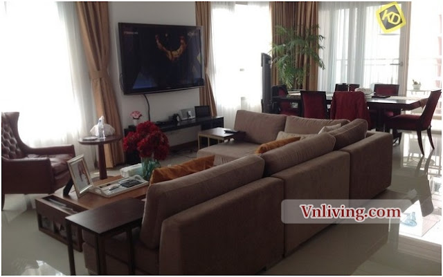 Xi Riverview Palace Dist 2 201 sqm for rent 3 bedrooms