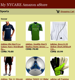 NYCARE.com Amazon aStore