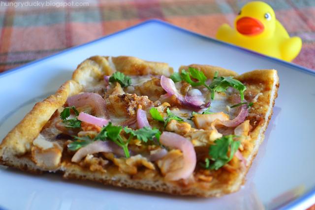 Hungry Ducky: Semi-Homemade CPK BBQ Chicken Pizza