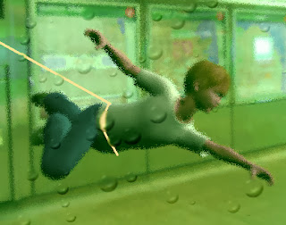 subway swimmer