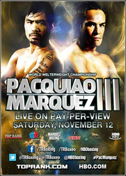 Modelo Capa Download   Marquez vs Pacquiao III   12/11/2011