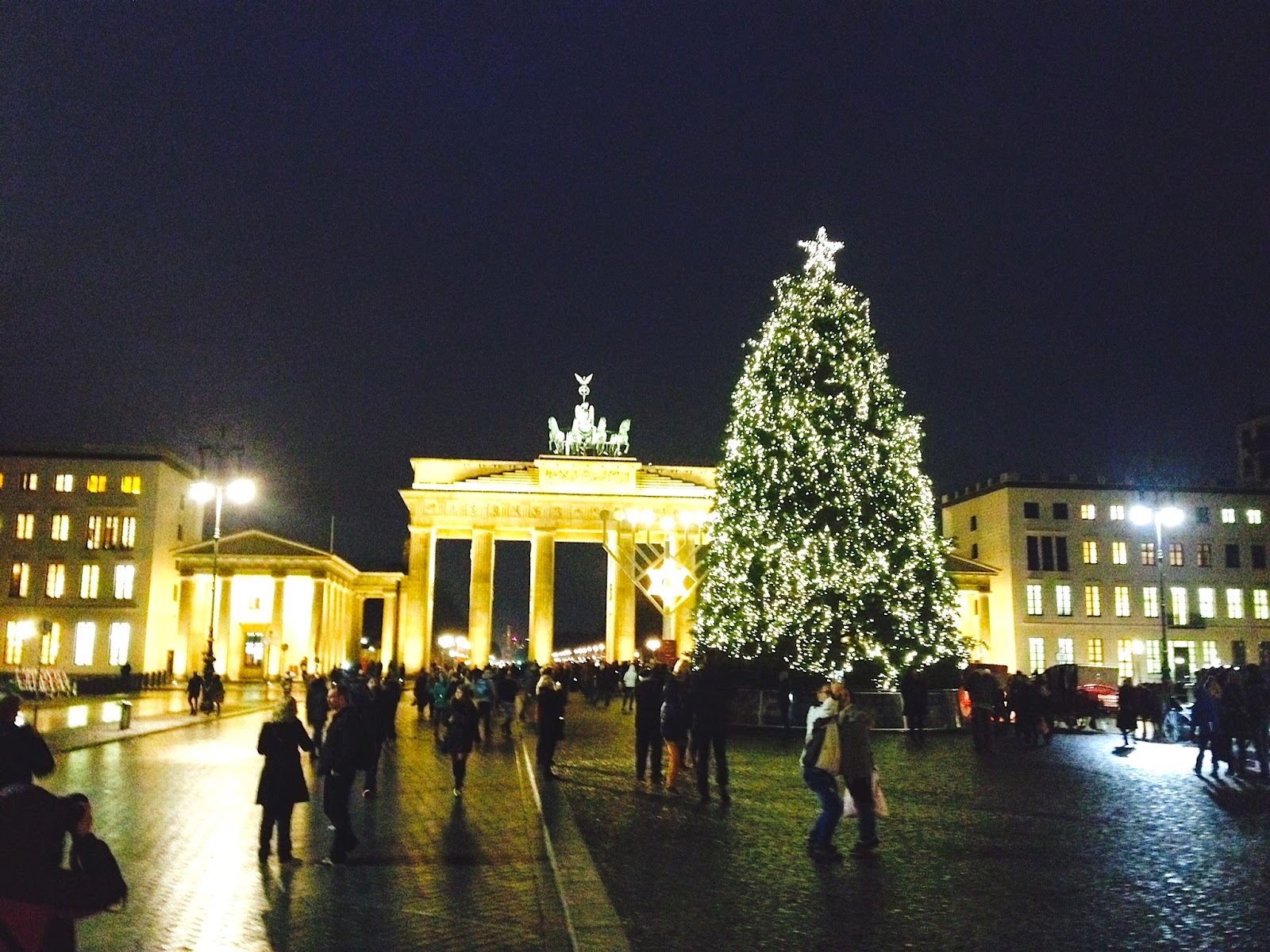 Brandenburg Gate Christmas