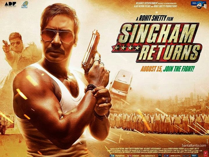 Xem phim Singham tro lai - PhimSV.Com