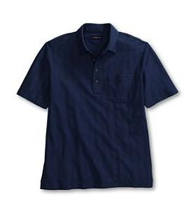 Herringbone Short Sleeve Polo - www.men-women-clothes.co.cc