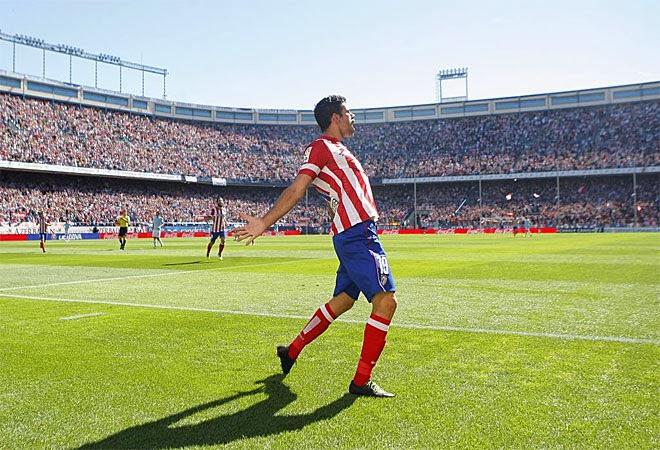 Diego Costa está que se sale. Ni él mismo se lo cree.