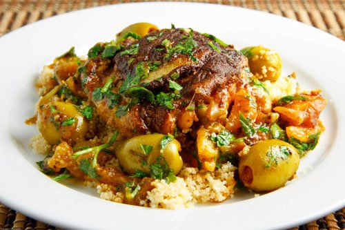 Best Recipes: Moroccan Chicken with Preserved Lemon and Olives Recipe