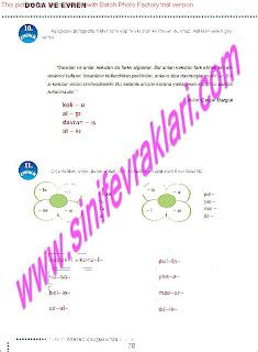 6.Sinif  Turkce Doku Yayinlari Ogrenci Calisma Kitabi Sayfa 78