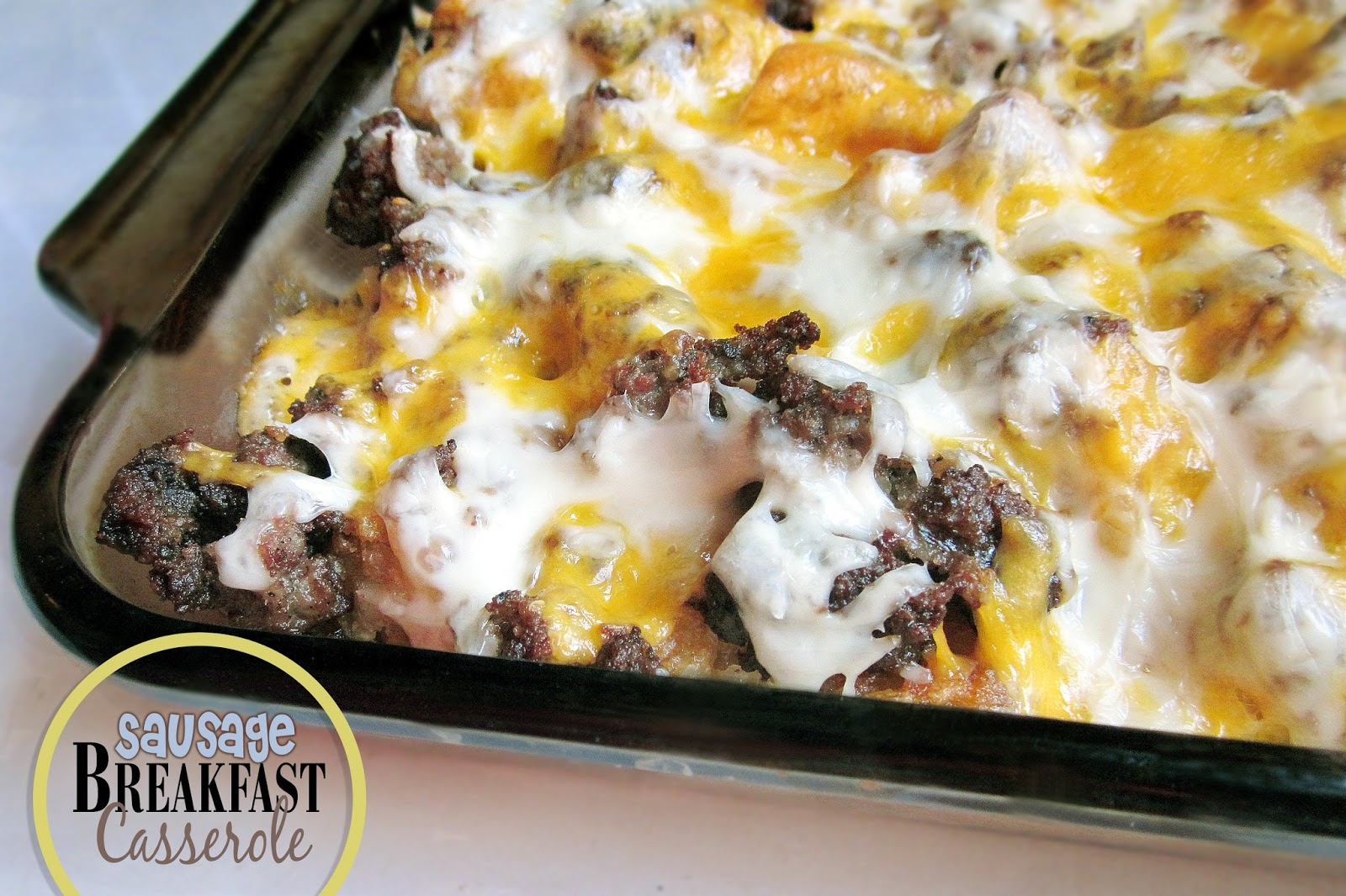 Diddles and Dumplings: Sausage Breakfast Casserole