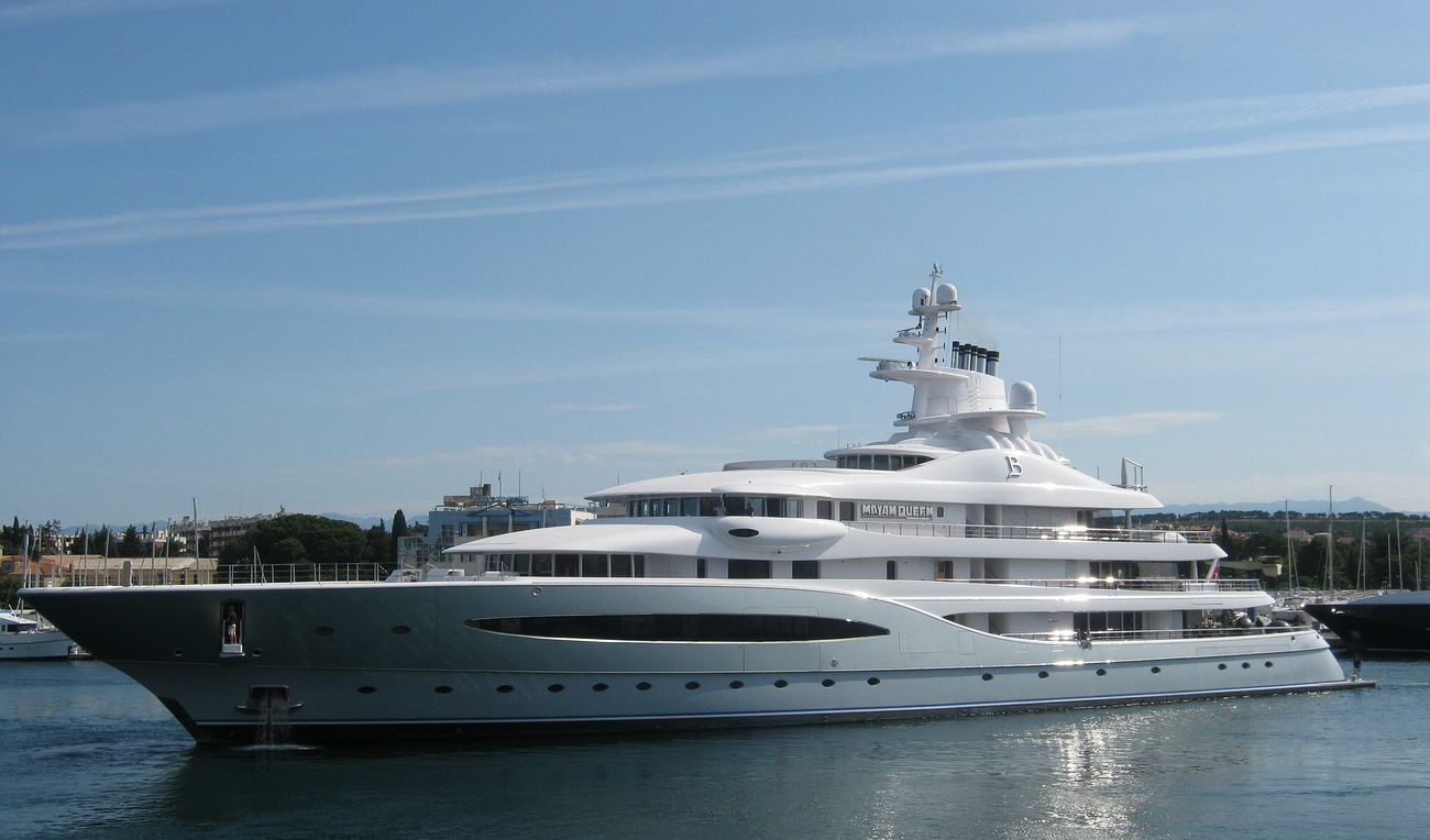 Superyacht MAYAN QUEEN IV
