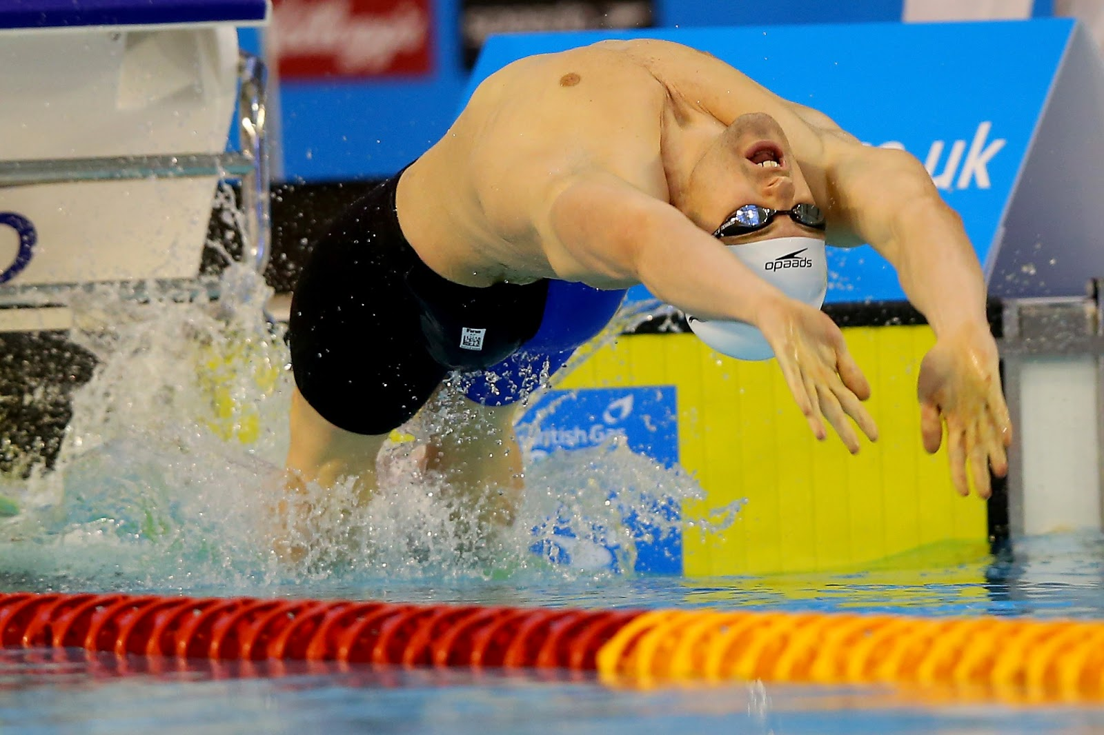 Photo by: Getty: Backstroke Start