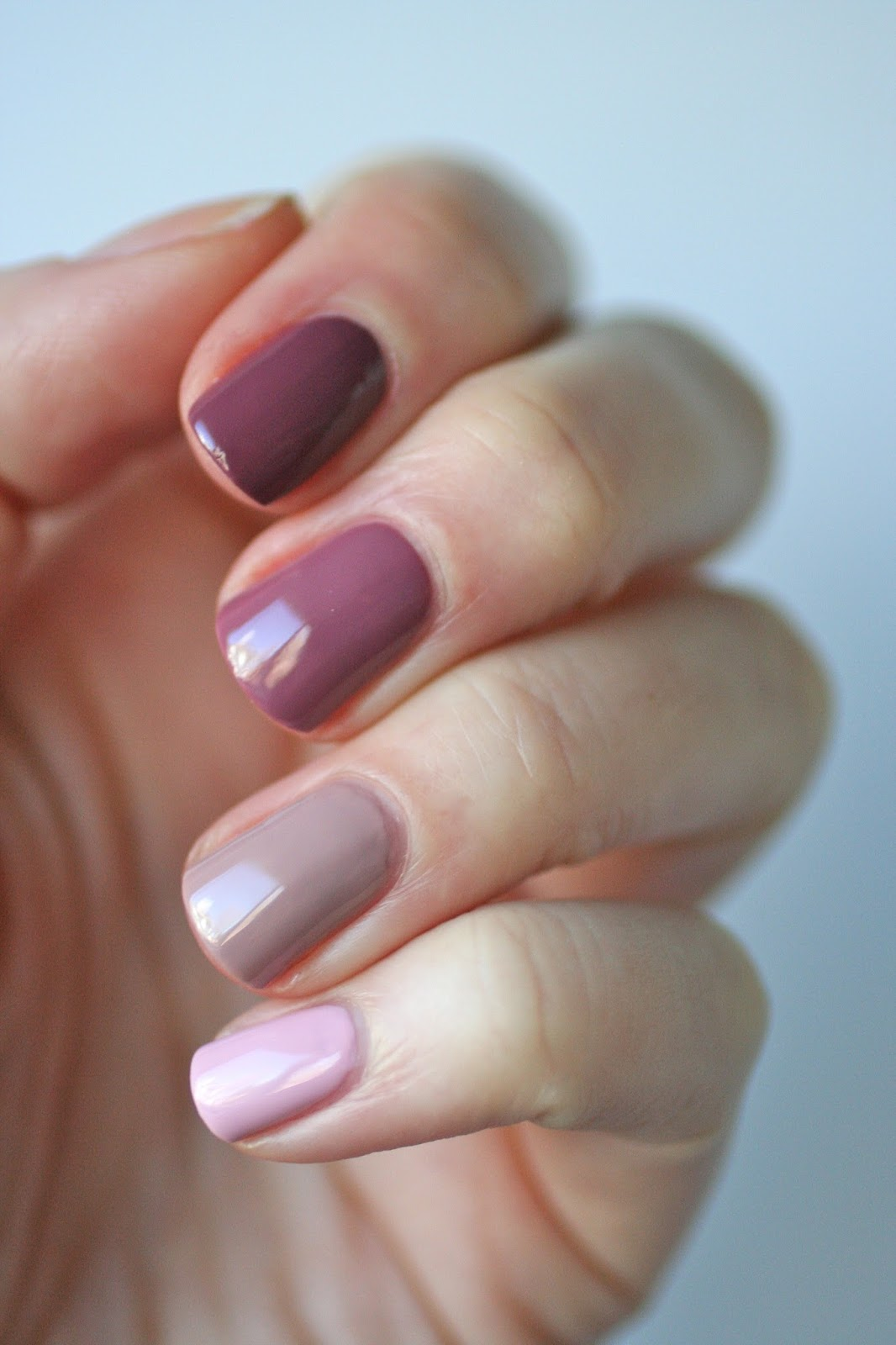 Essie Mauves : Neo Whimsical, Lady Like, Island Hopping & Angora ...