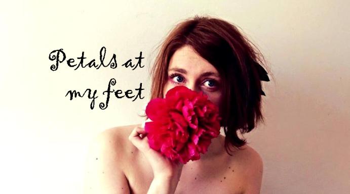 petals at my feet