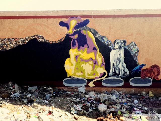 street art by Srishti School of Art, Design and Technology