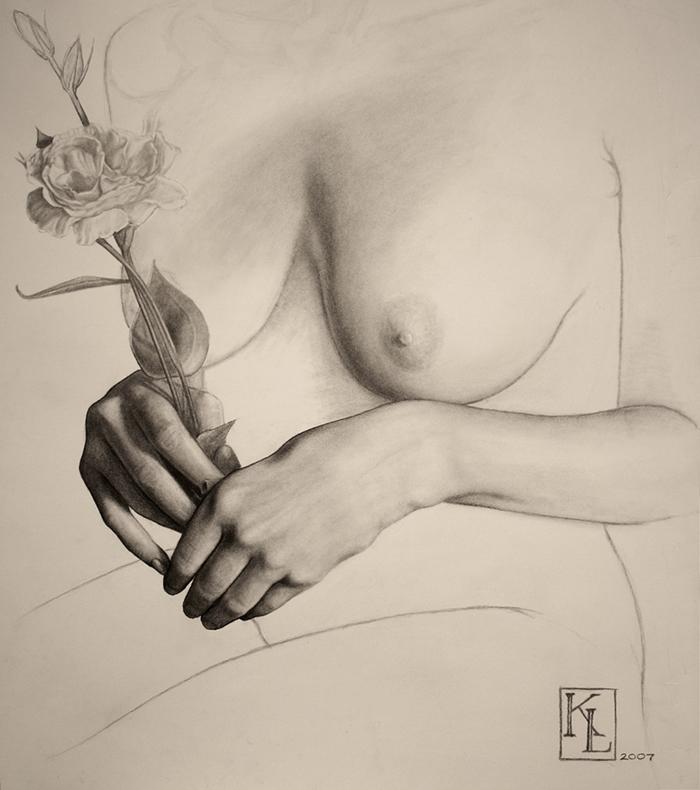 Kris Lewis 1978 | American Realist Visionary painter