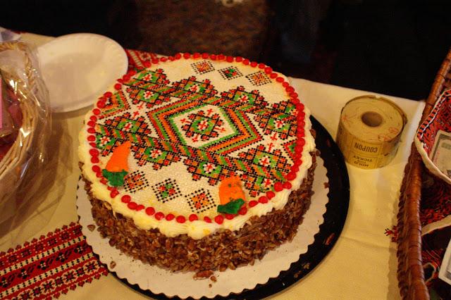 Ukrainian Embroidery Cake