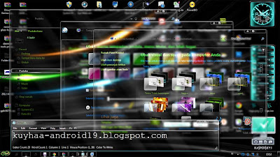 THEMES WINDOWS 7 TRANSPARAN COOL