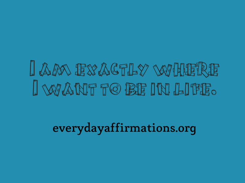 Affirmations for a Good Life4