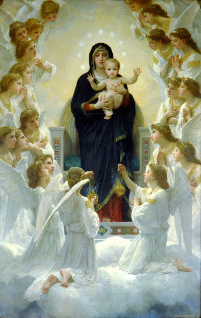 angels,Virgin Mary,Jesus