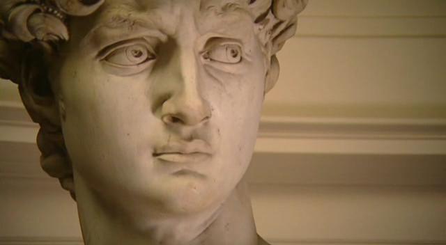 Cara de el David de Miguel Angel. Las mejores esculturas del renacimiento.