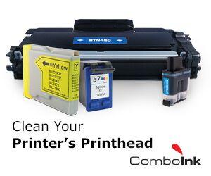 how to clean a printer printhead