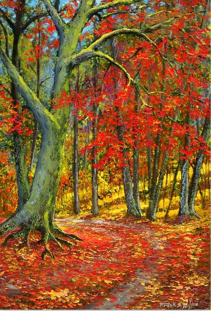 Cuadros modernos pinturas y dibujos paisajes pintados al - Los cuadros mas bonitos ...