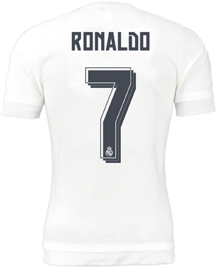 camiseta Cristiano Ronaldo Real Madrid 2016
