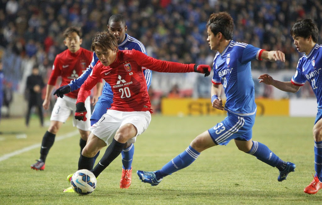 Tip kèo miễn phí Urawa Red Diamonds vs Suwon Bluewings