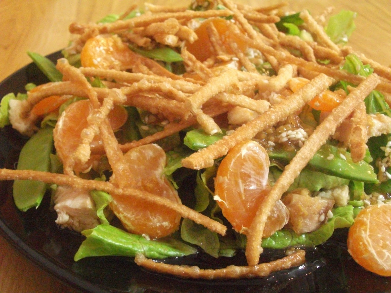 asian chicken salad with sesame ginger dressing chinese chicken salad ...