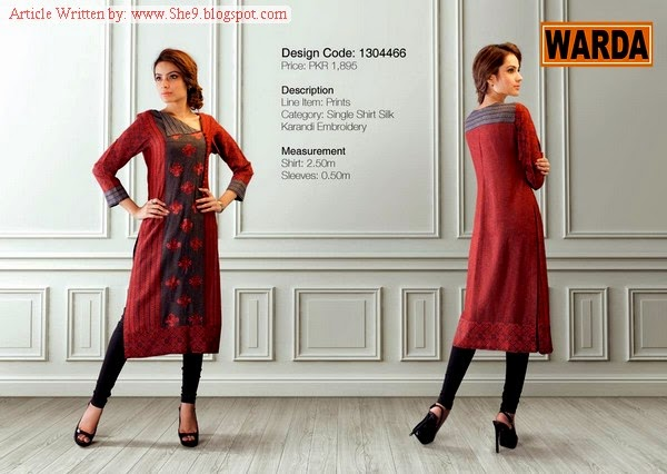 Warda Grace Winter / Fall Collection 2014-2015