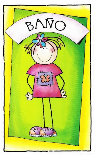 Imagenes De Baño Animadas: ACTIVIDADES PARA EDUCACIÓN INFANTIL: Carteles a color para el ASEO