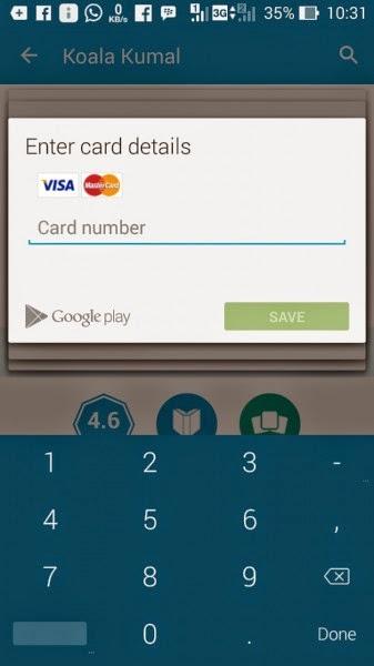 Cara Membeli Aplikasi dan Game di Play Store