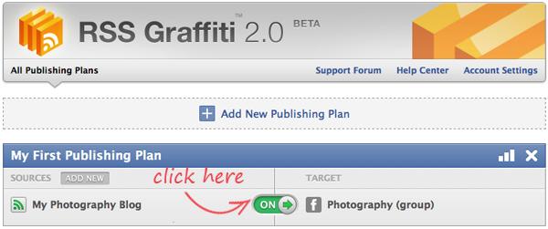 RSS Graffiti: Switch On Publishing