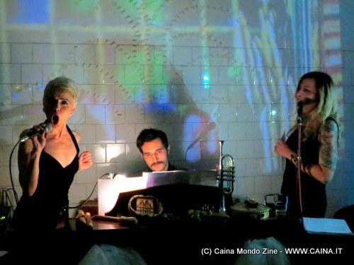 MUSICA PER ORGANI CALDI Anna Clementi, Rodion, Lola Kola per Vinicio Diamanti