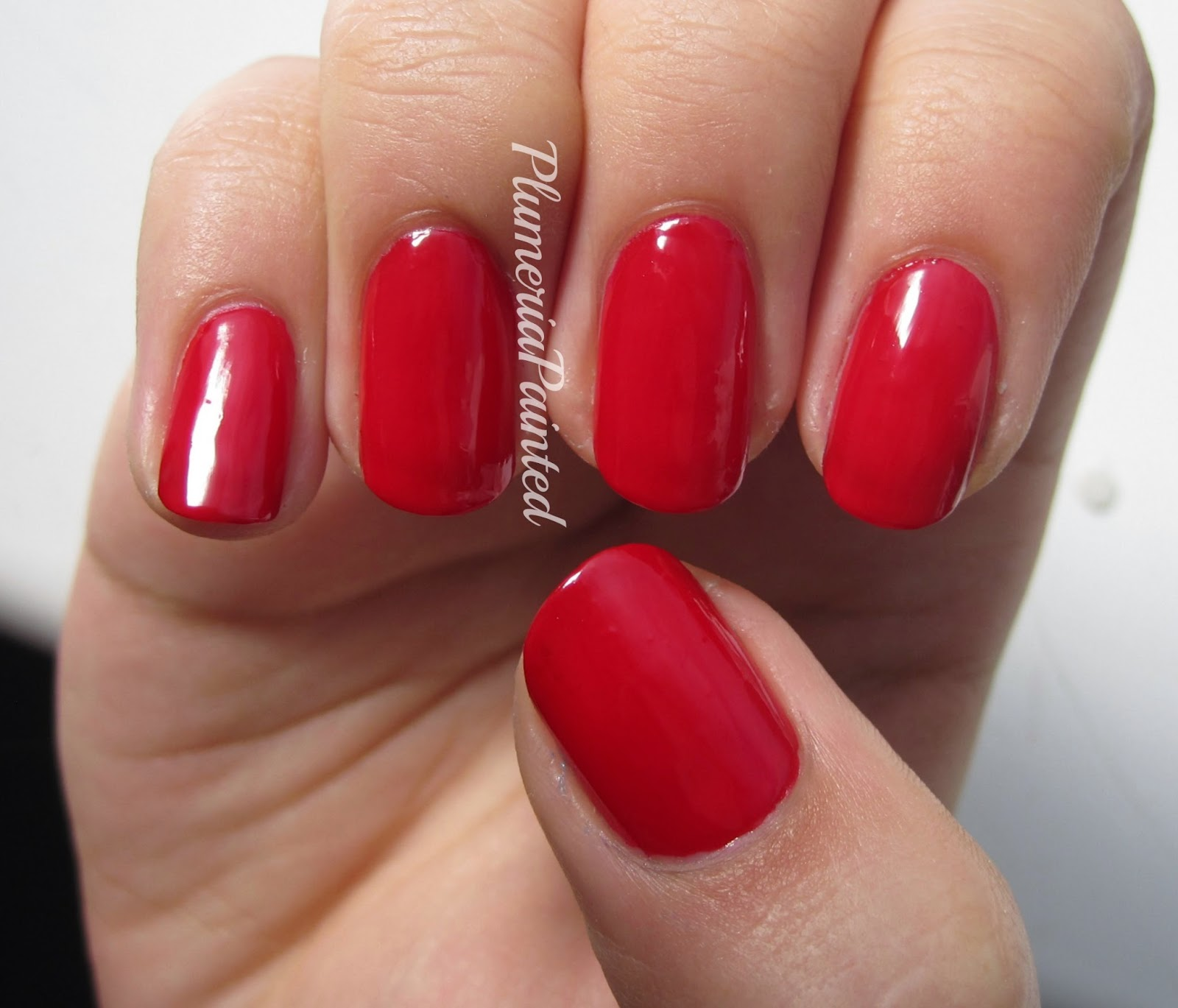 PlumeriaPainted: Red Nails: M&S - Poppy