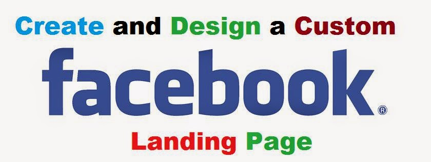 How to Make a Custom Facebook Landing Page image photo