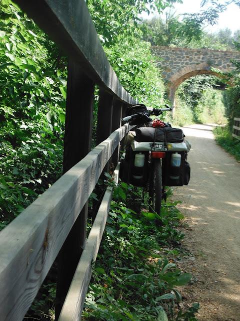Via Verde del Carrilet. Olot-Girona