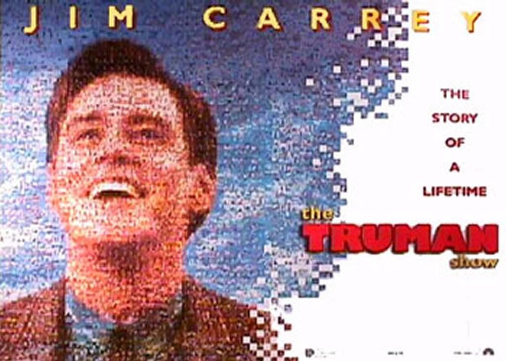 the truman show Chương trình truman (tiếng anh: the truman show) là một bộ phim khoa học viễn tưởng hài kịch mỹ năm 1998 của đạo diễn peter weir và biên kịch andrew nicol phim gồm các diễn viên như jim carrey thủ vai truman, laura liney, noah emmerich, eh harris và natscha mcelhone.