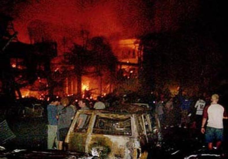 2002 Bali bombing in Kuta