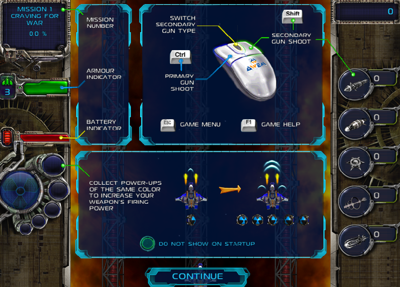 Free  Download Game  Galaxy Alien Wars
