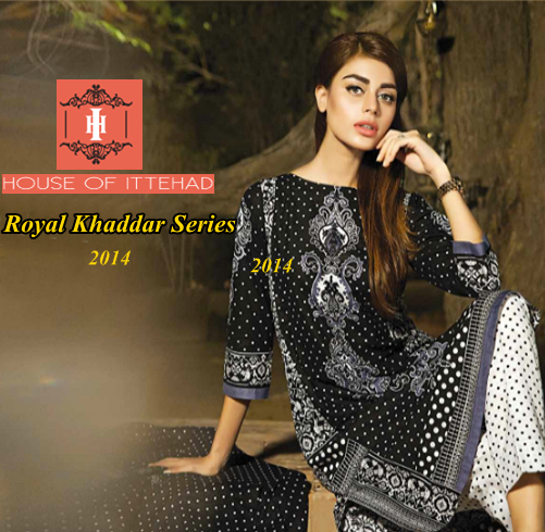 Ittehad Royal Khaddar Series 2014-2015